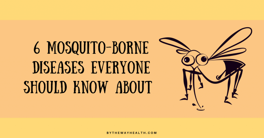 6 MOSQUITO BORN DISEASES EVERYONE SHOULD KNOW ABOUT