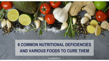 6 common nutritional deficiencies and 18 foods to cure them..