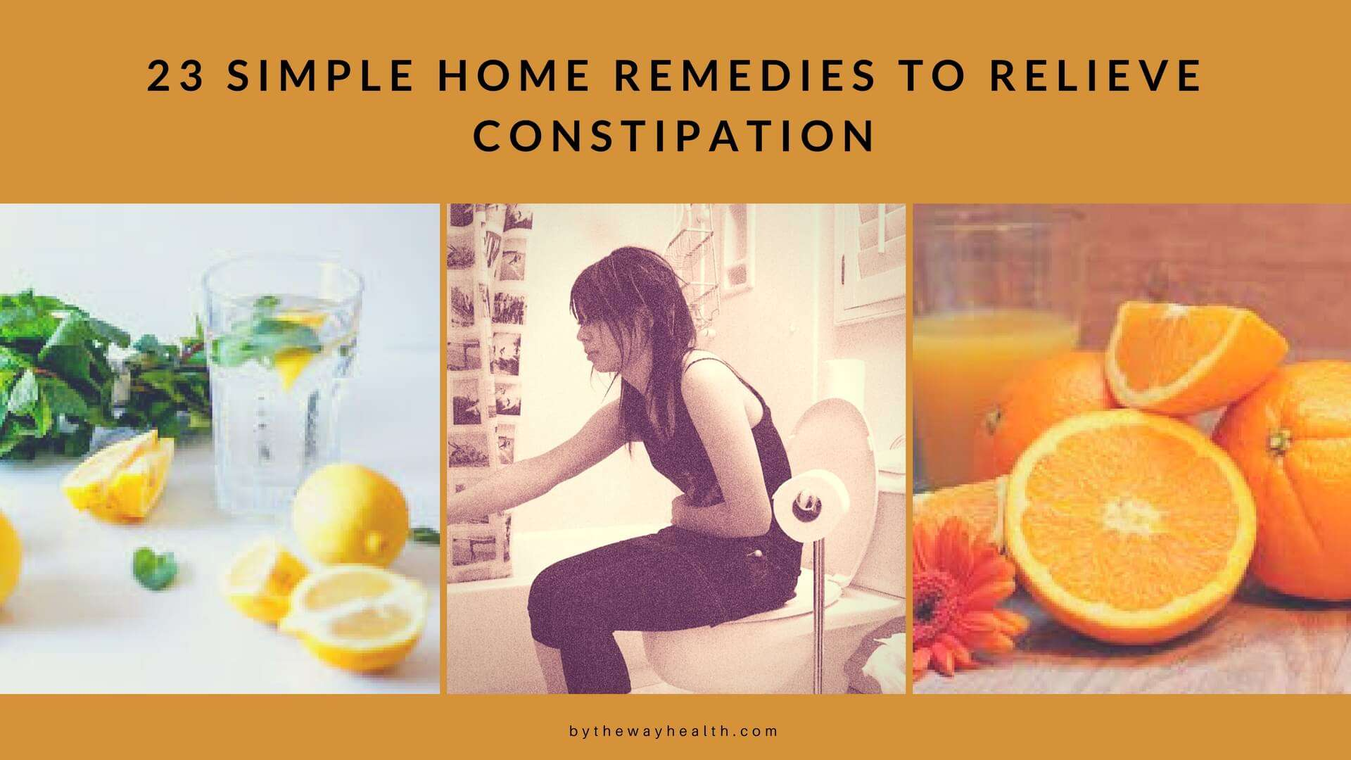 Old fashioned remedies for constipation 41