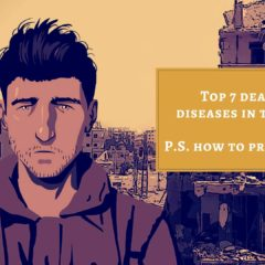 Top 7 deadliest diseases in the world P.S. how to prevent them