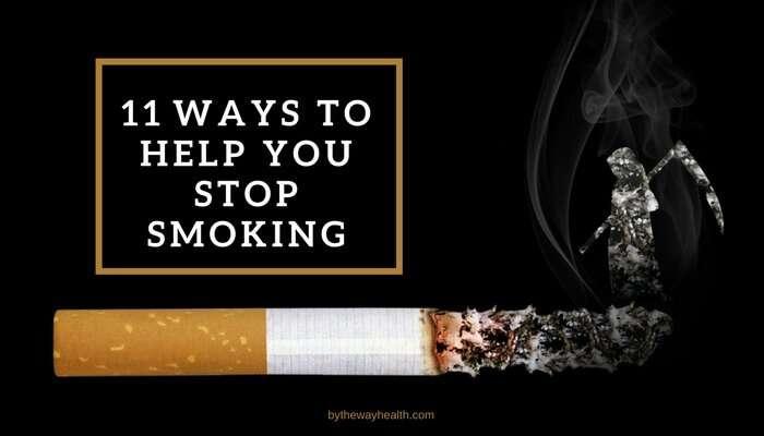 11 ways to help you stop smoking