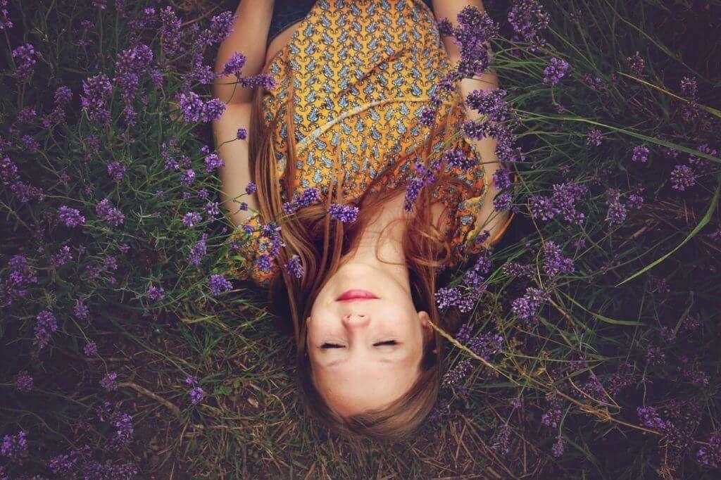 Lavender for quality sleep.